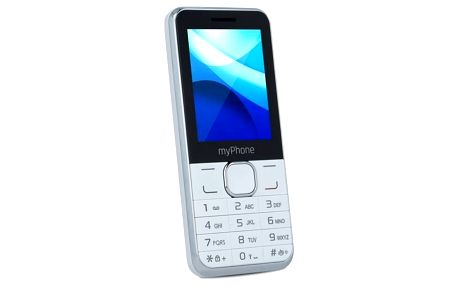 Mobilní telefon myPhone CLASSIC Dual SIM (TELMYCLASSICWH) bílý