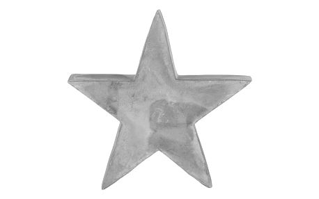 Hvězda dekorační festivus, 9/3,5/10 cm