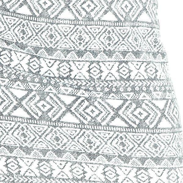 Okrové vypasované šaty s etno vzory 53-15 Varianta: S3