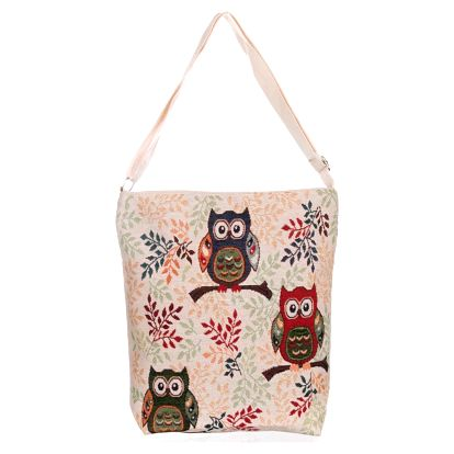 Fashion Icon Kabelka Retro Owl sova crossbody
