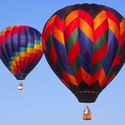 Luxusní let balónem pro dva (2hod+piknik)