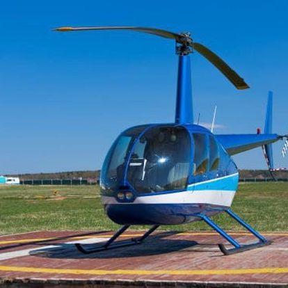 Soukromý let vrtulníkem Hradec Králové