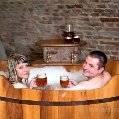 Pivní lázně Ostrava pro dva