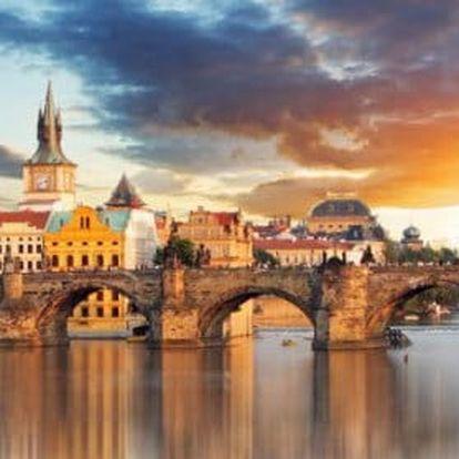 Až 3 dny v stověžaté Praze pro dva: bohaté snídaně a poukaz na večeři