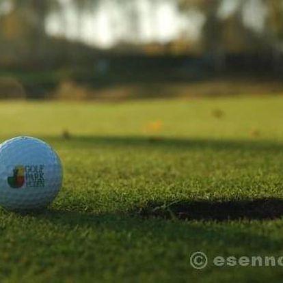 Víkend s golfem na Dýšině (Vaše první lekce)