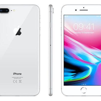 Mobilní telefon Apple iPhone 8 Plus 64 GB - Silver (MQ8M2CN/A) Software F-Secure SAFE 6 měsíců pro 3 zařízení v hodnotě 979 Kč + DOPRAVA ZDARMA