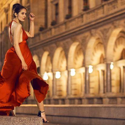 Profi focení v centru Prahy s líčením i účesem