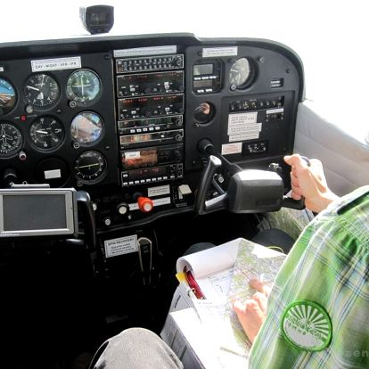 Pilotem na zkoušku - soukromý let pro 3 os. Praha