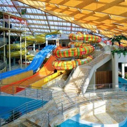 Rodinný pobyt v aquaparku Praha (2 dny, 1 noc)