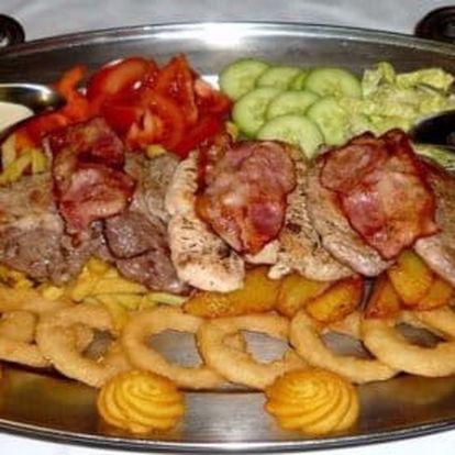 Rudolfovo fresh plato pro dva jedlíky v Golemovo restauraci
