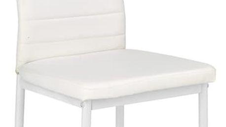 Kovová židle K70 bílá Halmar