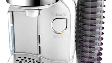 Espresso Bosch Caddy TAS7004 bílé Hrneček Milka (zdarma) + Doprava zdarma