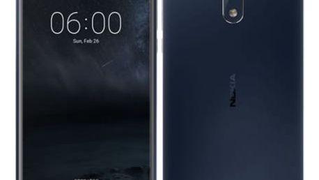 Mobilní telefon Nokia 6 Dual SIM (11PLEL01A08) modrý