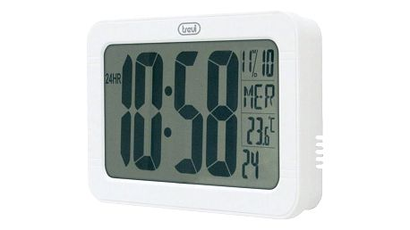 Nástěnné digitální hodiny Trevi OM 3328 D, bílé