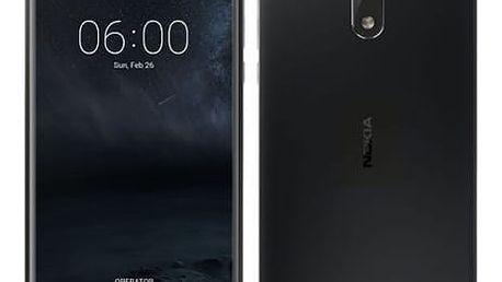 Mobilní telefon Nokia 6 Single SIM (11PLEB01A13) černý