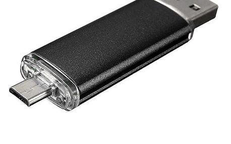 32 GB flash disk - USB 2.0 a micro USB konektor, 8 barev