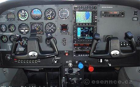 Pilotem na zkoušku Cessna Praha