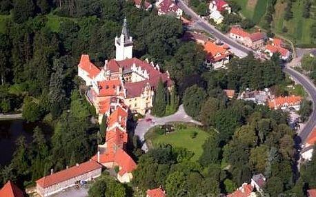 Vyhlídkový let Krásy Čech (3os., 60min.)