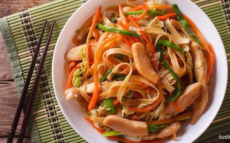 Chutná a potěší: jídlo dle výběru či permanentka