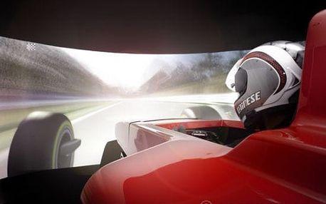 Simulátor Formule 1 (60 min.)
