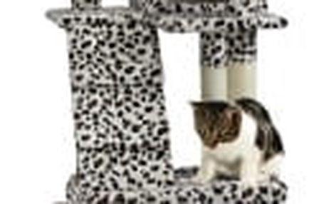 Škrabadlo pro kočky Hawaj, 170x75x50 cm, barva leopardí