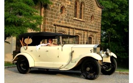 Luxusní Rolls Royce pro dva