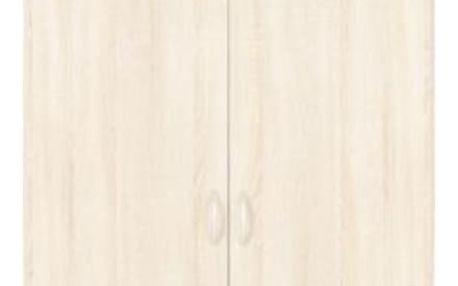 Nástavec na skříň karo, 91/39/54 cm