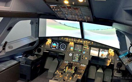Letecký trenažér Airbus A320 (30 min.)