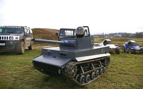 Jízda v mini tanku