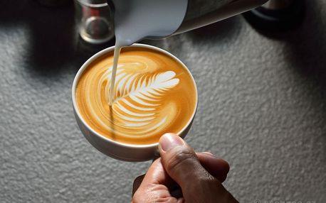 Kurz kávy - Latté art