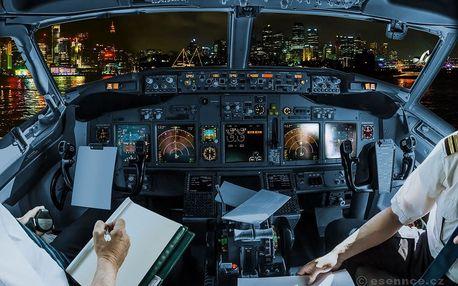 Letecký trenažér Airbus A320 (60 min.)