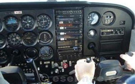 Pilotem na zkoušku Cessna