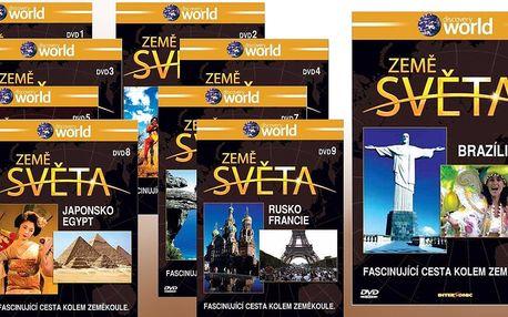 Kolekce 9 DVD Země světa