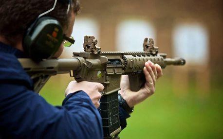 Střelba - různé zbraně