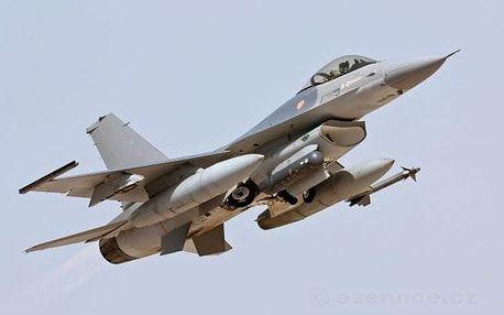 Letecký trenažér stíhačky F16
