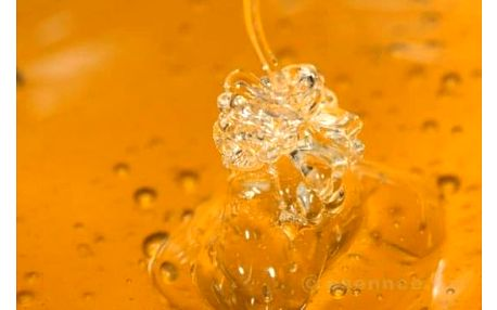 Medová lázeň se zázvorem