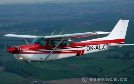 Letecký simulátor + Pilotem letadla Cessna