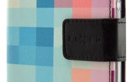 Pouzdro na mobil flipové FIXED pro Samsung Galaxy J3 (2017) - dice (FIXOP-166-DI)