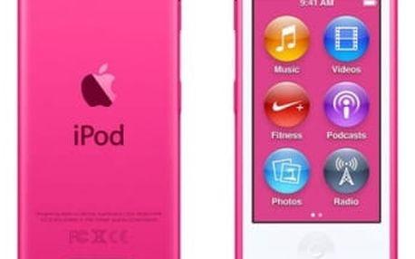 MP3 přehrávač Apple 16GB (MKMV2HC/A) růžový