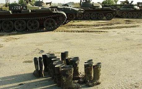 Řízení tanku T55