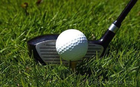 Golf - lekce pro děti