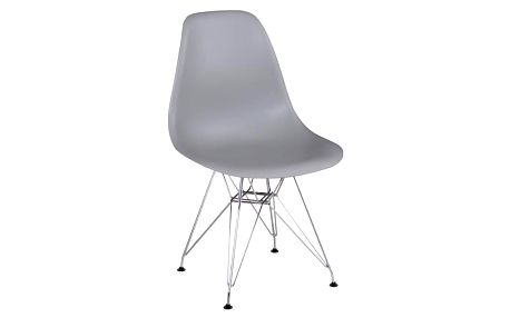 Židle, šedá, ANISA