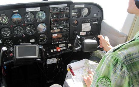 Pilotem na zkoušku - soukromý let Praha