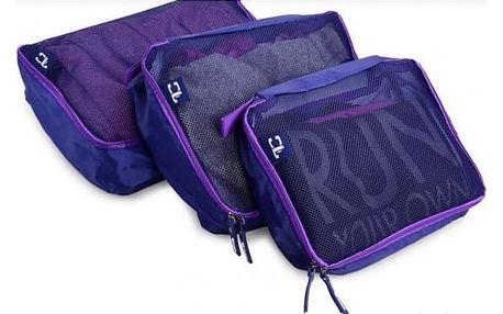 Organizér do zavazadla Traveller set 3 ks