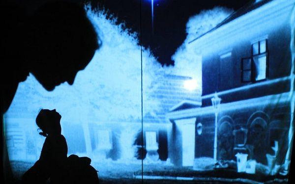 The black light theatre Prague - Divadlo U Valšů