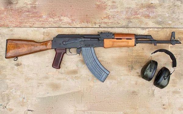 Střelba ze samopalu Kalašnikov AK472