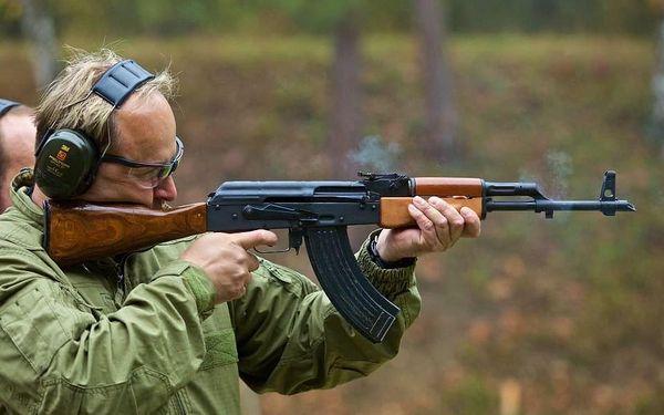 Střelba ze samopalu Kalašnikov AK473