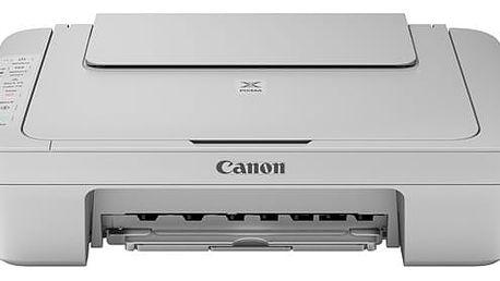 Tiskárna multifunkční Canon MG3052 (1346C046) šedá A4, 8str./min, 4str./min, 4800 x 600, duplex, WF, USB