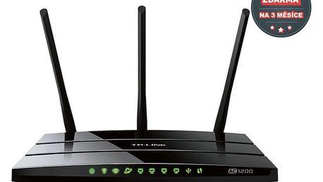 Router TP-Link Archer C1200 + IP TV na 3 měsíce ZDARMA (Archer C1200) černý