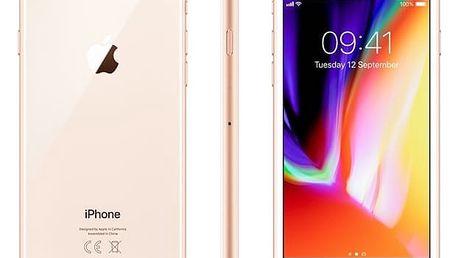 Mobilní telefon Apple 64 GB - Gold (MQ6J2CN/A) Software F-Secure SAFE 6 měsíců pro 3 zařízení v hodnotě 999 Kč + DOPRAVA ZDARMA
